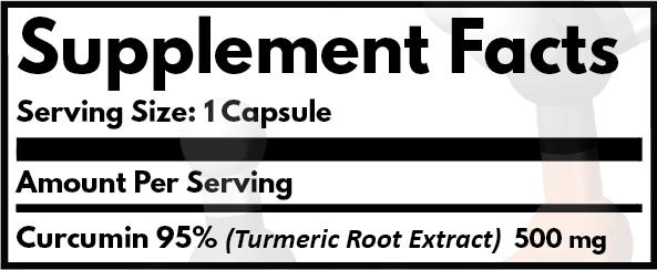 Curcumin 95% Turmeric Extract Capsules
